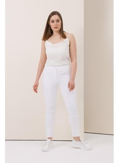 Gusto Sihirli Pantolon - Saks Sihirli Pantolon - Saks Beyaz